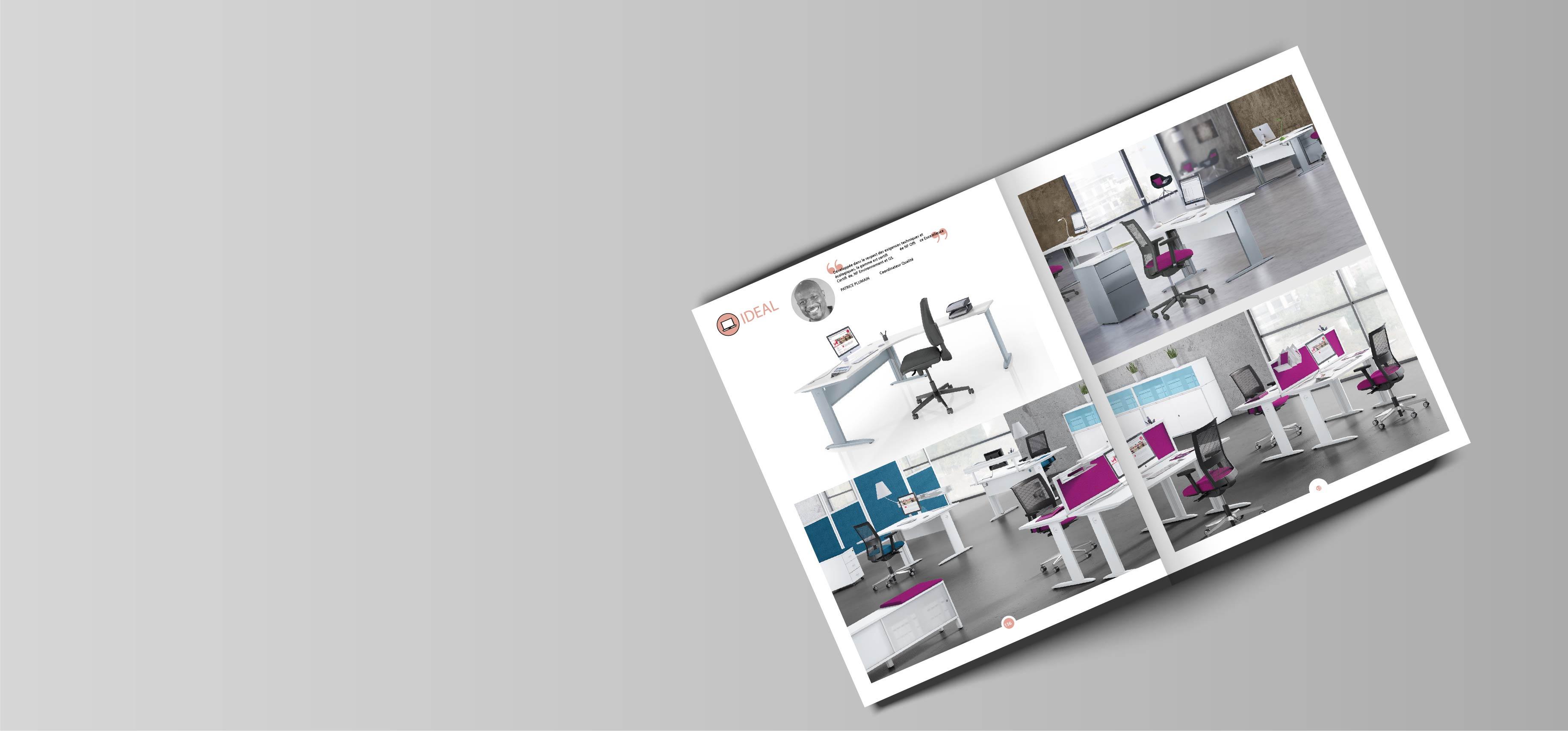Slide catalogues AUBUREAU - vente de fournitures de bureau et de mobiliers