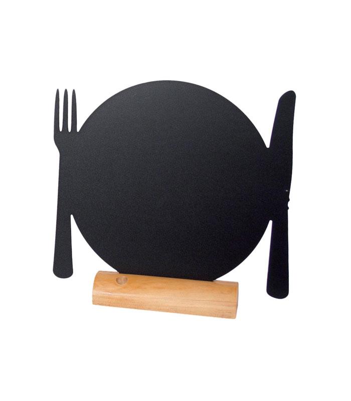 Securit ardoise assiette + pied