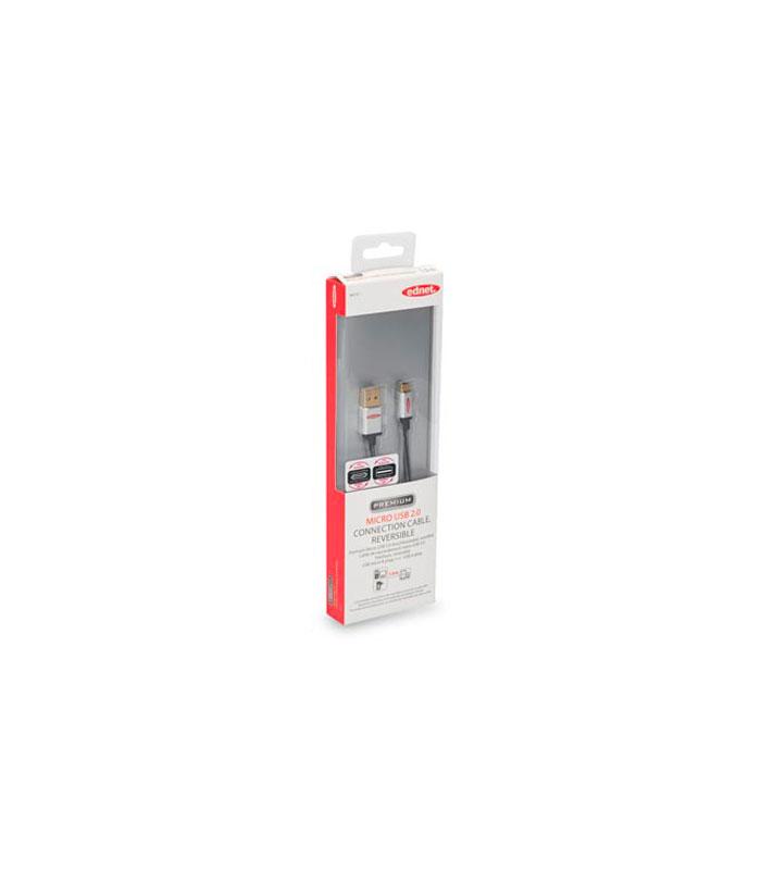 Câble USB 2.0 type A – Micro B, 1 mètre