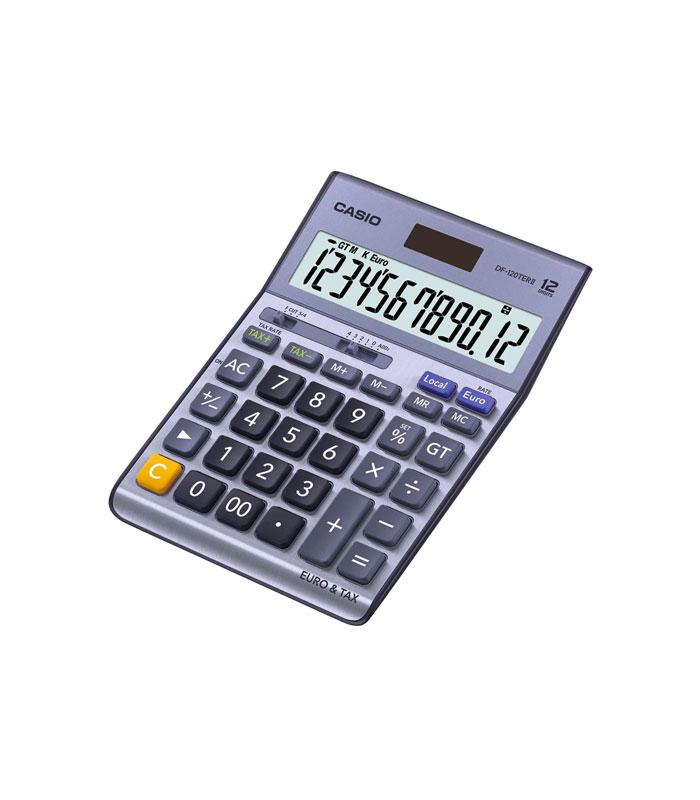 Calculatrice de bureau Casio DF120TER II AUBUREAU