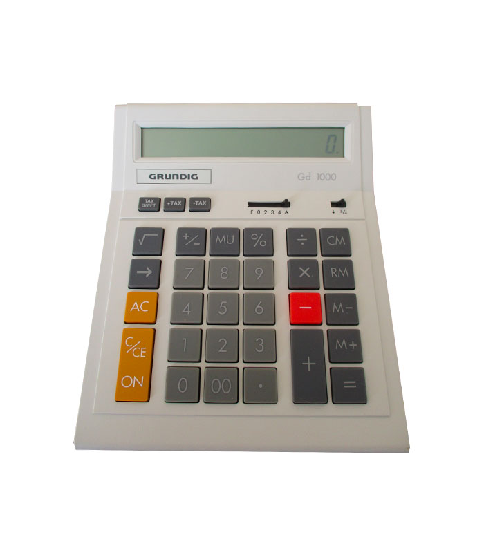Calculatrice de bureau Grundig