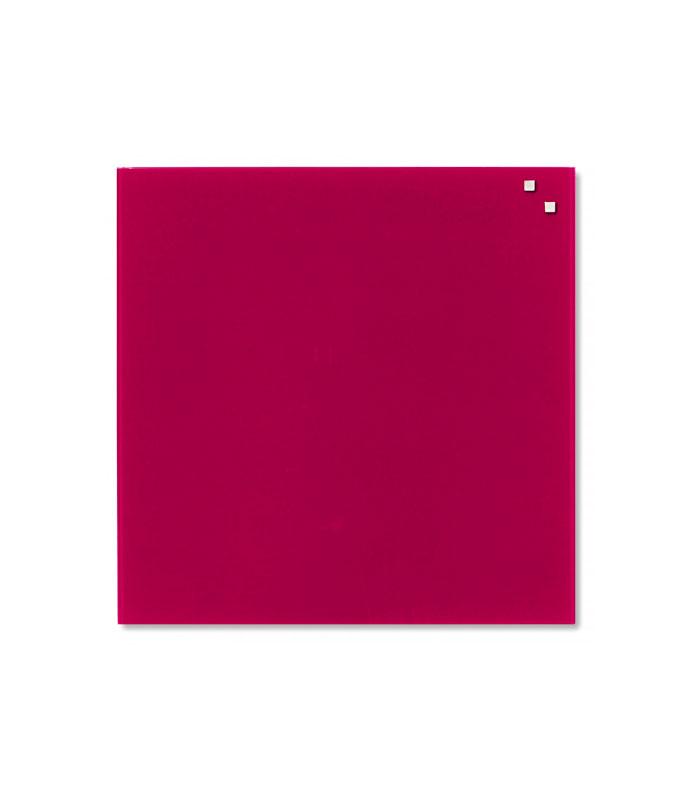 tableau en verre magn tique 35 x 35 cm divers coloris naga aubureau. Black Bedroom Furniture Sets. Home Design Ideas