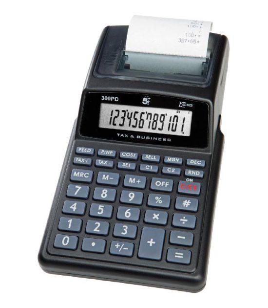 Calculatrice de bureau avec rouleau 5star aubureau for Bureau rouleau